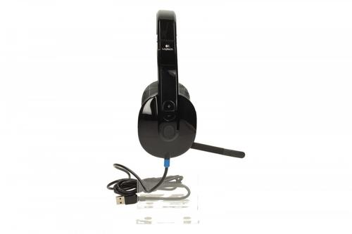Logitech H540 Słuchawki z mikrofonem 981-000480 Black