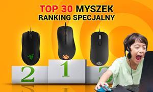 TOP 30 Myszek - Ranking Specjalny Wrzesień 2015