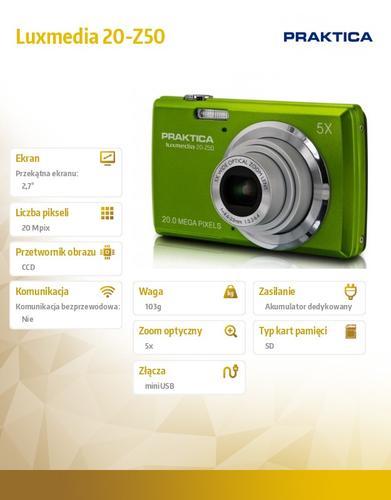 Praktica Luxmedia 20-Z50 zielony