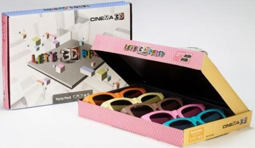 LG Cinema 3D Party Pack