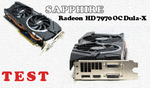 Sapphire Radeon HD 7970 Dual-X test karty graficznej