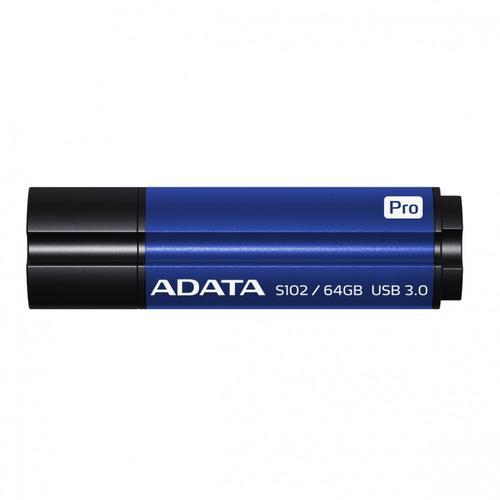 A-Data DashDrive Elite S102 Pro 64GB USB3.0 niebieski - 100MB / 50MB