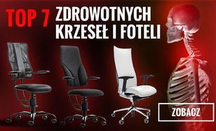 Ranking Zdrowych Krzeseł - TOP 7 Krzeseł i Foteli, Które Zadbają o Nasze Zdrowie