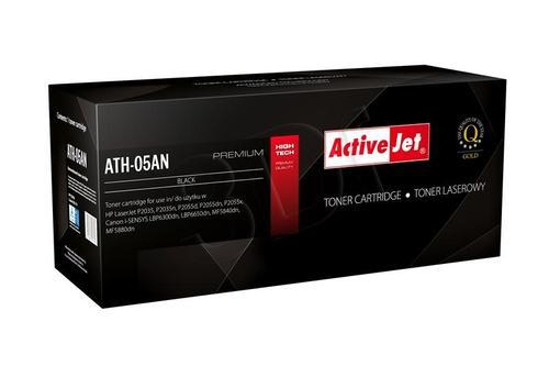 ActiveJet ATH-05AN czarny toner do drukarki laserowej HP (zamiennik 05A CE505A) Premium