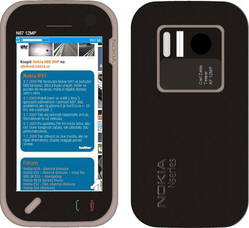 Nokia N87 Vasco