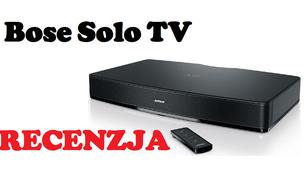 Bose Solo TV - kino domowe w pojedynczym głośniku