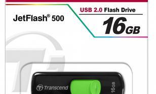 Transcend JETFLASH 500 16GB USB2.0 BLACK
