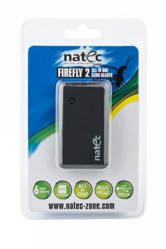 NATEC Czytnik kart All-In-One FIREFLY 2 Black