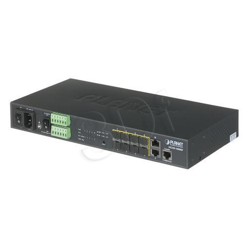 PLANET MGSD-10080F Switch 8-port SFP 2xGEth Zarzą.