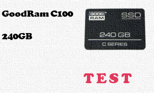 GoodRam C100 240GB test dysku SSD