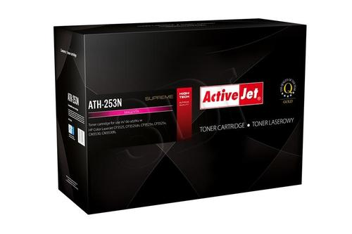 ActiveJet ATH-253N magenta toner do drukarki laserowej HP (zamiennik 504A CE253A) Supreme