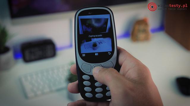 Nokia 3310 aparat