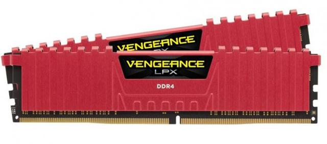 Corsair Vengeance LPX 16GB Red (2x8GB 3000MHz DDR4 CL15)