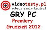 Premiery gier PC - Grudzień 2012