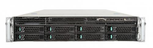 Intel R2308GZ4GC platforma rack 2U/2xE5-2600 24xDDR3/2x750W/8xHDD