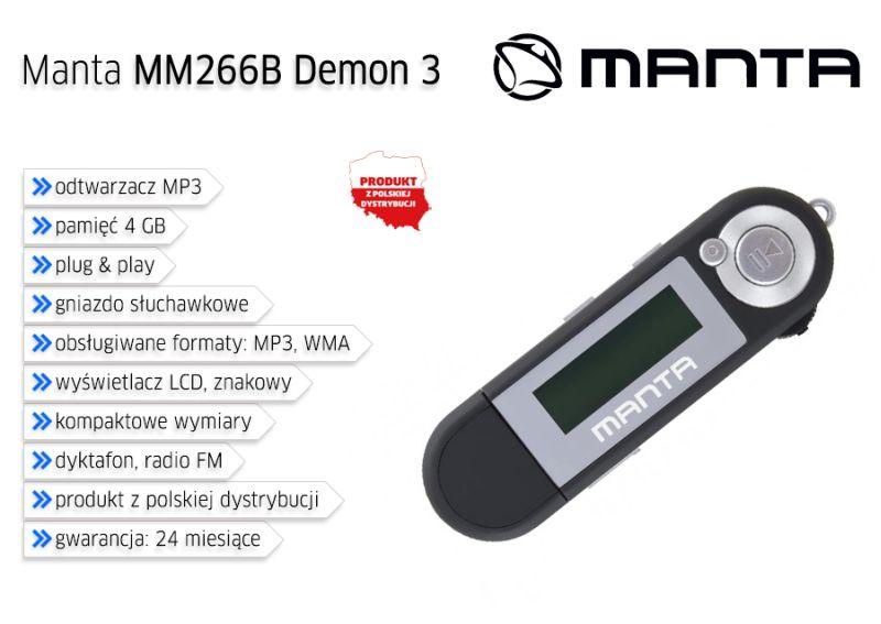 Manta MM266 Demon 4GB